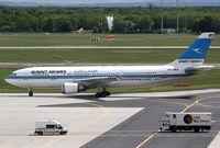 9K-AMA @ EDDF - Kuwait Airways A300