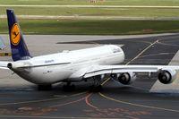 D-AIHC @ EDDF - Lufthansa A340