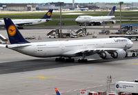 D-AIHB @ EDDF - Lufthansa A340
