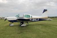 G-BHLX @ X5FB - Grumman American AA-5B Tiger, Fishburn Airfield, July 2013. - by Malcolm Clarke