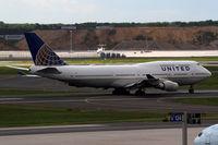 N107UA @ EDDF - United B747