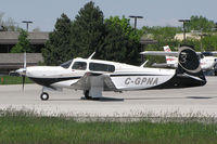 C-GPNA @ CYKZ - This 2007 Mooney M2OR is waiting for clearance to takeoff on runway 33 at Buttonville Airport (YKZ) - by Ron Coates