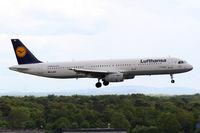 D-AISD @ EDDF - Lufthansa A321