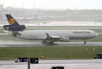 D-ALCE @ EDDF - Lufthansa cargo MD11