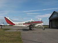 C-FRYZ @ CYRP - This 1965 Cessna 310 sits outside the WestAir hanger at the Carp Airport (CYRP) outside Ottawa - by Ron Coates