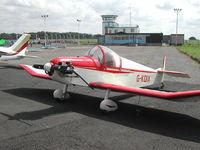 G-KDIX @ CAX - This Jodel D-9 Bebe attended the 2004 Carlisle Fly-in. - by Peter Nicholson