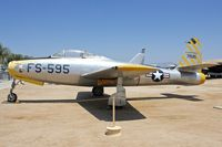 47-1595 @ KRIV - At March Field Air Museum , Riverside , California