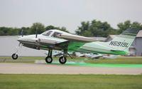 N6919L @ KOSH - Cessna 310K - by Mark Pasqualino