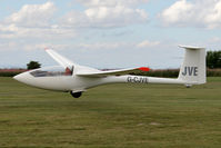 G-CJVE @ X5SB - Eiriavion PIK-20D being launched for a cross country flight during The Northern Regional Gliding Competition, Sutton Bank, North Yorks, August 2nd 2013. - by Malcolm Clarke