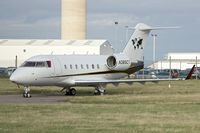 N385CT @ EGNX - One of three aircraft belonging to Caterpillar Inc - parked at East Midlands in the UK