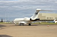 N797CT @ EGNX - One of three aircraft belonging to Caterpillar Inc - parked at East Midlands in the UK