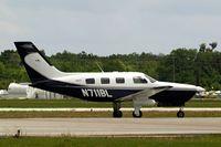 N711BL @ KLAL - Piper PA-46-350P Malibu Mirage [4636310] Lakeland-Linder~N 16/04/2010 - by Ray Barber