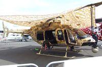 N407GT @ LFPB - Bell 407 at the Aerosalon 2013, Paris