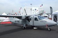OE-FMG @ LFPB - Tecnam P2006T MMA Multi Mission Aircraft at the Aerosalon 2013, Paris