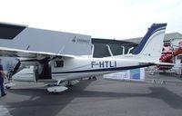 F-HTLI @ LFPB - Vulcanair P.68 Observer 2 at the Aerosalon 2013, Paris