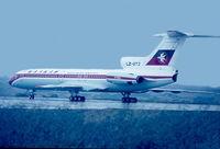 LZ-BTJ @ LMML - Tu-154B LZ-BTJ of Balkan Airlines. - by Raymond Zammit