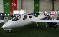 SP-YLE @ LFPB - Flaris LAR-1 (first flight planned for end of 2013) at the Aerosalon 2013, Paris