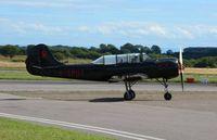 G-SPUT @ EGFH - Visiting Yak-52 - by Roger Winser