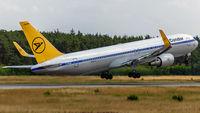 D-ABUM @ EDDF - departure via RW18W
