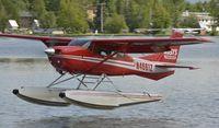 N4661Z @ PALH - Landing at Lake Hood