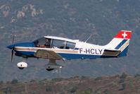 F-HCLY @ LFKJ - In flight