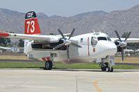 N437DF @ KHMT - At Hemet Ryan Airport  , California
