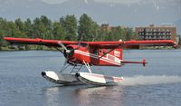 N68083 @ PALH - Departing Lake Hood - by Todd Royer