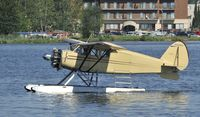 N18285 @ PALH - Taxiing on Lake Hood