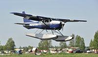 N7375N @ PALH - Landing at Lake Hood
