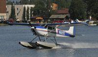 N9211T @ PALH - Departing Lake Hood