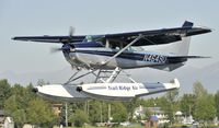 N4649U @ PALH - Landing at Lake Hood