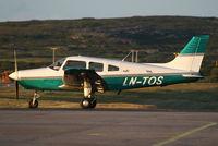 LN-TOS @ ENVD - Tromsø Flyklubb Piper PA-28 - by Thomas Ranner