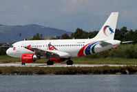 D-ASTA @ LGKR - Gambia livery - by Jeroen Stroes