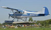 N4427B @ PALH - Landing at Lake Hood