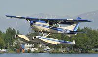 N61599 @ PALH - Departing Lake Hood
