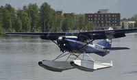 N1797R @ PALH - Departing Lake Hood