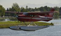 N4891Z @ PALH - Landing at Lake Hood