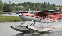 N675HP @ PALH - Departing Lake Hood