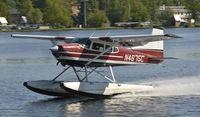 N4675C @ PALH - Departing Lake Hood