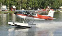 N9001M @ PALH - Departing Lake Hood