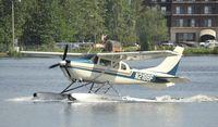 N2186F @ PALH - Taxiing at Lake Hood