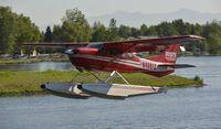 N4661Z @ PALH - Departing Lake Hood