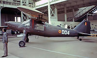 D-04 - Dornier Do.27J-1 [2101] (Musee Royale de l'Armee et d'Histoire Militaire) Brussels~OO 13/08/1977. Taken from a slide. - by Ray Barber