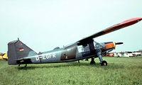 D-EGFR @ EKVJ - Dornier Do-27A-1 [160] Stauning~OY 05/06/1982 - by Ray Barber