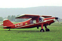D-ELZZ @ EDVY - Dornier Do-27B-3 [432] Porta Westfalica~D 26/05/1984. Taken from a slide not the best of images needed a lot of work to get the image to this state. - by Ray Barber