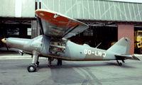 OO-LWJ @ EBAW - Dornier Do.27A-1 [288] Antwerp-Deurne~OO 14/08/1977. Taken from a slide. Written off Herenthout~OO 1978-04-29.