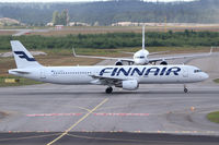 OH-LZB @ EFHK - Finnair A321 - by Thomas Ranner