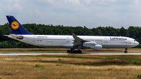D-AIGH @ EDDF - departure via RW18W - by Friedrich Becker