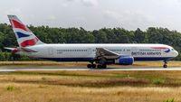 G-BZHC @ EDDF - departure via RW18W