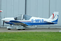 G-MFLD @ EGNM - Multiflight - by Chris Hall